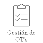 Gestión de órdenes de trabajo OT's